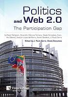 Politics and web 2.0 : the participation gap