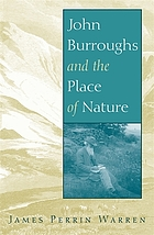 John Burroughs and the place of nature