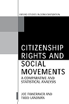 Citizenship rights and social movements : a comparative and statistical analysis