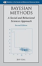 Bayesian Methods: A Social and Behavioral Sciences Approach cover image