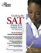 Cracking the SAT : biology E/M subject test