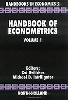 Handbook of econometrics. Volume I