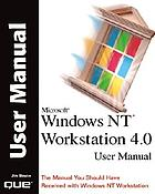 Microsoft Windows NT Workstation 4.0 user manual