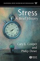 Stress : a brief history