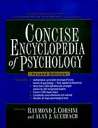 Concise encyclopedia of psychology