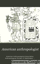 American anthropologist.
