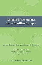 António Vieira and the Luso-Brazilian baroque