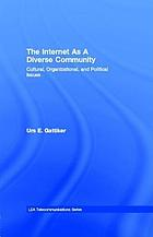The Internet as a diverse community : cultural, organizational, and political issues
