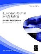 European journal of marketing Vol. 39, No. 3/4, The state of research in marketing