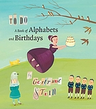 To do : a book of alphabets and birthdays