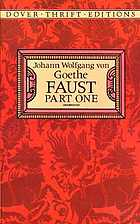 Faust. Part one