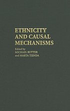 Ethnicity and causal mechanisms