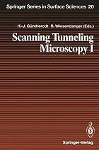 Scanning tunneling microscopy I : general principles and applications to clean and adsorbate-covered surfaces
