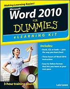 Word 2010 for Dummies : elearning kit