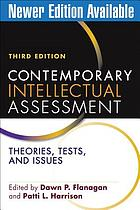 Contemporary intellectual assessment : theories, tests, and issues