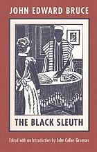The Black sleuth