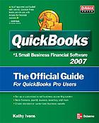 Quickbooks 2007 : the official guide