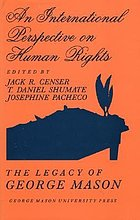 An International perspective on human rights : the legacy of George Mason