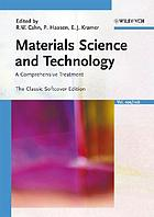 Materials science and technology : a comprehensive treatment