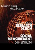 Handbook of research design & social measurement