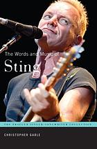 The words and music of Sting