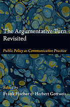 The argumentative turn revisited : public policy as communicative practice