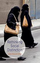 Rethinking social distinction