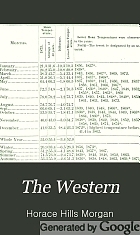 The Western; a journal of literature, education and art.