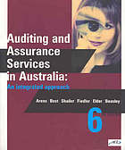 Auditing and assurance services in Australia : an integrated approach