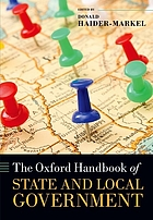 The Oxford handbook of state and local government.