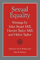 Sexual equality : writings