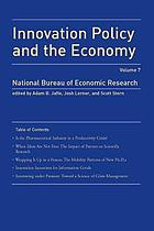 Innovation policy and the economy. [vol.] 7