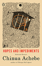 Hopes and impediments : selected essays