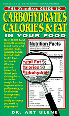 The Nutribase guide to carbohydrates, calories & fat in your food