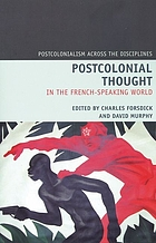 Postcolonial thought in the French-speaking world