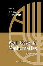 Wolf prize in mathematics / 2.