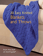 20 easy knitted blankets and throws.