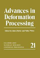 Advances in Deformation Processing