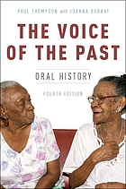 The voice of the past : oral history