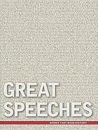 Great speeches : words that made history