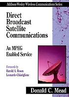 Direct broadcast satellite communications : an MPEG enabled service