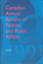 Canadian annual review of politics and public affairs, 1991