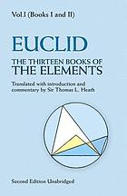 Elements. 1, Introduction and books I, II