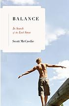 Balance : in search of the lost sense