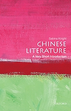 Chinese literature : a very short introduction