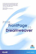 From Microsoft FrontPage to Macromedia Dreamweaver