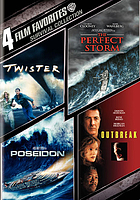 Survival collection : Twister, Perfect storm, Poseidon, Outbreak.