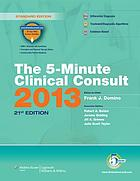 The 5-minute clinical consult 2013
