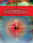 The encyclopaedic dictionary of psychology Book Cover