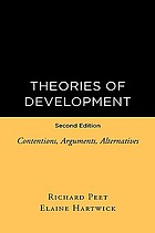 Theories of development : contentions, arguments, alternatives